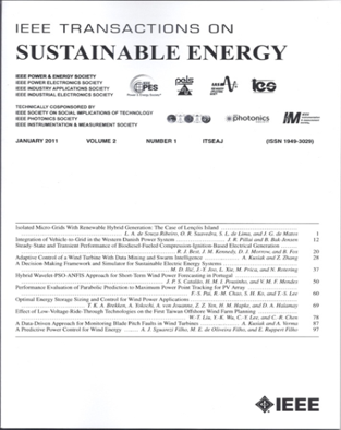 IEEE Transactions on Sustainable Energy template (IEEE)