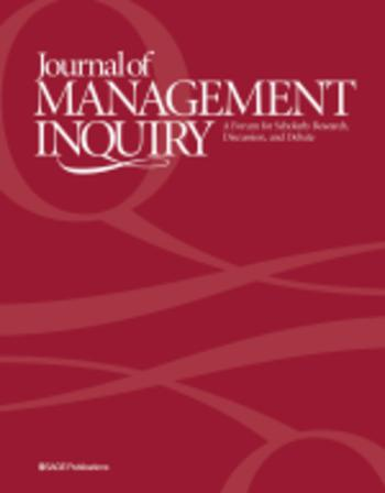 Journal of Management Inquiry template (SAGE)