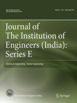 Journal of The Institution of Engineers (India): Series E template (Springer)