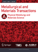 Metallurgical and Materials Transactions A template (Springer)