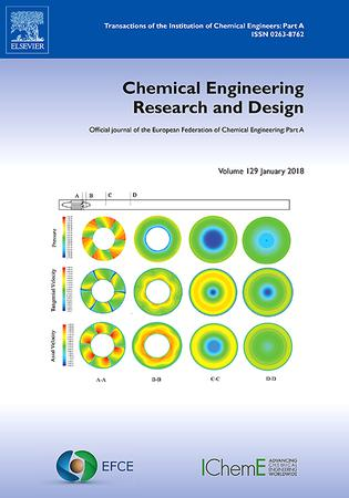 Elsevier Chemical Engineering Research And Design Template
