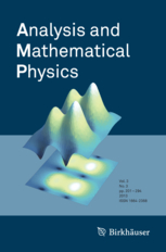 Analysis and Mathematical Physics template (Springer)