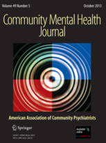 Community Mental Health Journal template (Springer)
