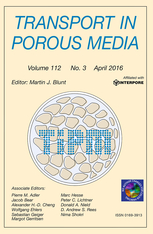 Transport in Porous Media template (Springer)