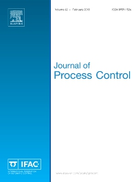 Journal of Process Control template (Elsevier)