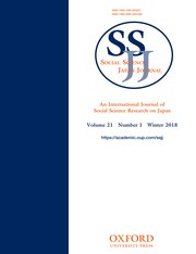 Social Science Japan Journal template (Oxford University Press)