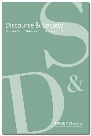 Discourse & Society template (SAGE)