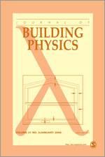 Journal of Building Physics template (SAGE)