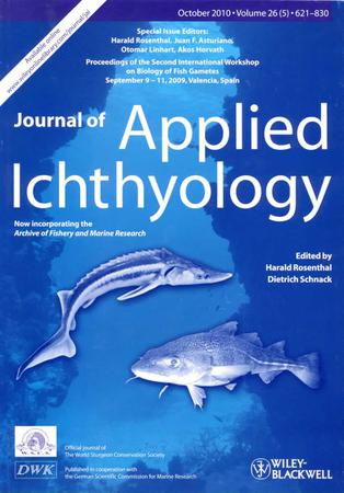 Journal of Applied Ichthyology template (Wiley)