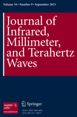 Journal of Infrared, Millimeter, and Terahertz Waves template ( Millimeter)
