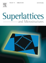 Superlattices and Microstructures template (Elsevier)