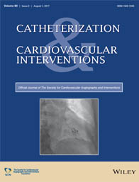 Catheterization and Cardiovascular Interventions template (Wiley)
