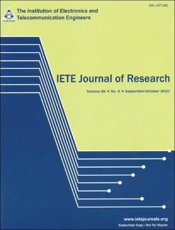 IETE Journal of Research template (Taylor and Francis)