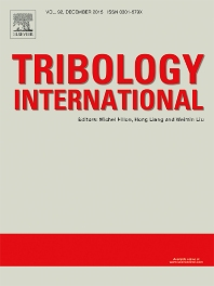 Tribology International template (Elsevier)
