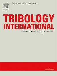 Tribology International template (Elsevier)
