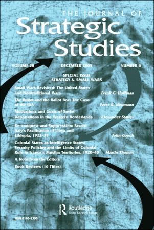 Journal of Strategic Studies template (Taylor and Francis)