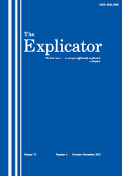 The Explicator template (Taylor and Francis)