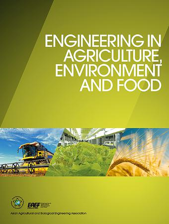 Engineering in Agriculture, Environment and Food template ( Environment and Food)