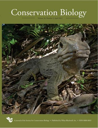 Conservation Biology template (Wiley)
