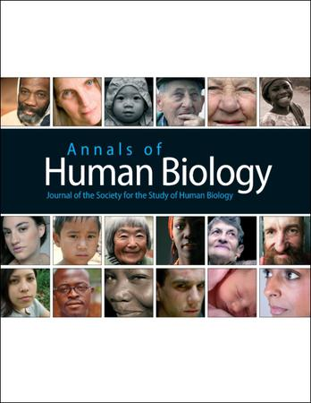 Annals of Human Biology template (Taylor and Francis)