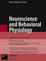 Neuroscience and Behavioral Physiology template (Springer)