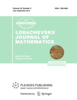Lobachevskii Journal of Mathematics template (Springer)