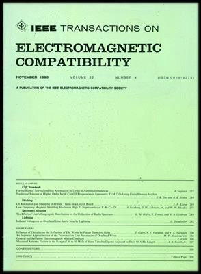 IEEE Transactions on Electromagnetic Compatibility template (IEEE)