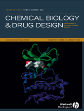 Chemical Biology & Drug Design template (Wiley)