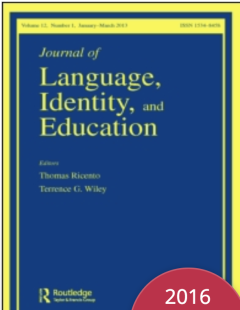 Journal of Language, Identity and Education template (Identity and Education)