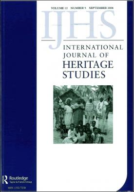 International Journal of Heritage Studies template (Taylor and Francis)
