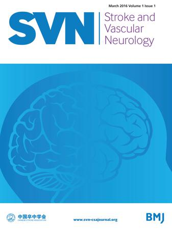 Stroke and Vascular Neurology template (BMJ Publishing Group)