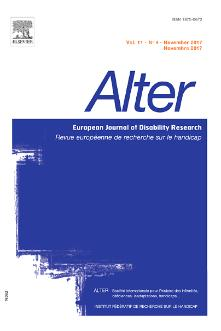 ALTER - European Journal of Disability Research / Revue Européenne de Recherche sur le Handicap template (Elsevier)