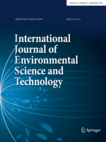 International Journal of Environmental Science and Technology template (Springer)