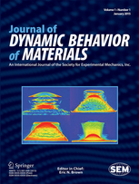 Journal of Dynamic Behavior of Materials template (Springer)