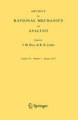 Archive for Rational Mechanics and Analysis template (Springer)