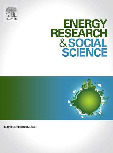 Energy Research & Social Science template (Elsevier)