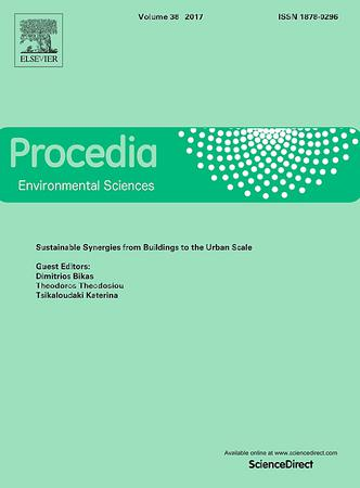 Procedia Environmental Sciences template (Elsevier)