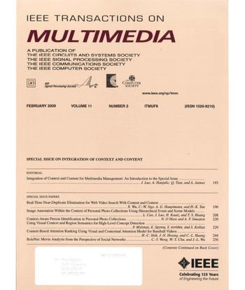 IEEE Transactions on Multimedia template (IEEE)