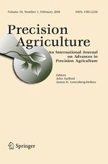 Precision Agriculture template (Springer)
