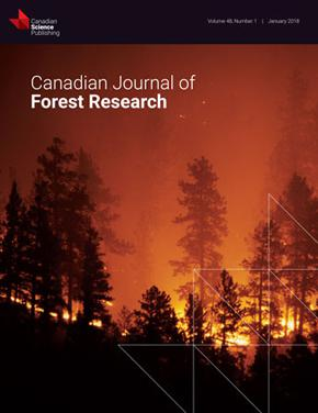 Canadian Journal of Forest Research template (NRC Research Press)