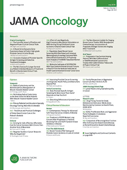 JAMA Oncology template (American Medical Association)