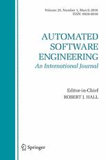 Automated Software Engineering template (Springer)