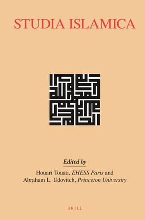 Studia Islamica template (Brill)