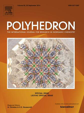 Polyhedron template (Elsevier)