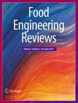 Food Engineering Reviews template (Springer)