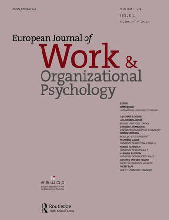 European Journal of Work and Organizational Psychology template (Taylor and Francis)