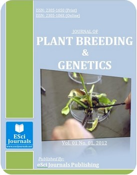 Journal of Plant Breeding and Genetics template (Esci Journals Publishing)