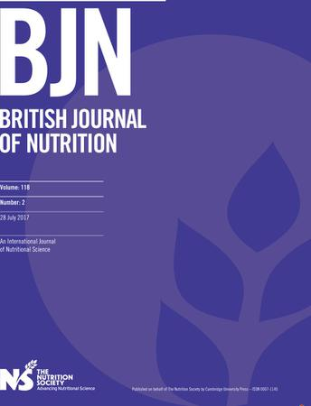 British Journal of Nutrition template (Cambridge University Press)