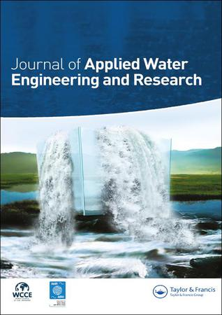 Journal of Applied Water Engineering and Research template (Taylor and Francis)
