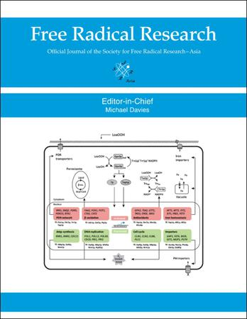 Free Radical Research template (Taylor and Francis)